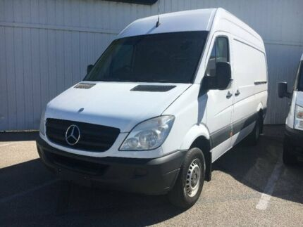 2011 Mercedes-Benz Sprinter NCV3 MY11 416CDI Low Roof MWB White 5 Speed Automatic Van
