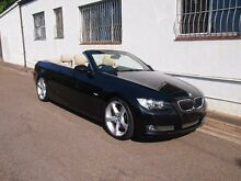 2008 BMW 335i E93 MY08 Sapphire Black Auto Sports Mode Convertible Petersham Marrickville Area Preview