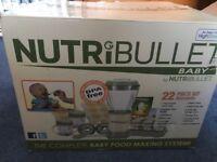 Nutribullet Baby Food Processor + Loads of Extras