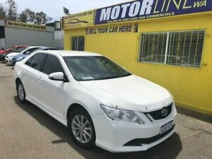 2016 Toyota Aurion GSV50R AT-X Sedan 4dr Spts Auto 6sp, 3.5i White Sports Automatic Sedan