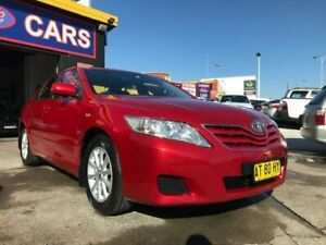 2010 Toyota Camry ACV40R 09 Upgrade Altise Burgundy 5 Speed Automatic Sedan Cardiff Lake Macquarie Area Preview