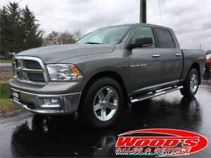2011 DODGE RAM 1500 SLT BIG HORN 4X4 CREW