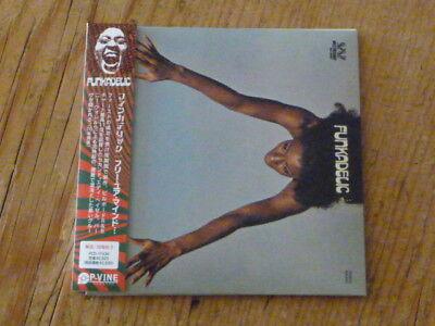Funkadelic: Free Your Mind Japan Mini-LP CD PCD-17436 Mint (parliament p-funk Q