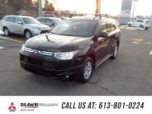 2014 Mitsubishi Outlander RARE BUY ONLY 17KM./7SEATER/HITCH/CROS