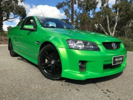 2008 Holden Ute Green Sports Automatic Utility