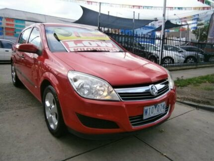 2008 Holden Astra AH MY08 CD Red 4 Speed Automatic Hatchback Preston Darebin Area Preview