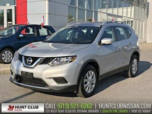2015 Nissan Rogue S | Htd Seats, Bluetooth, Rear Camera