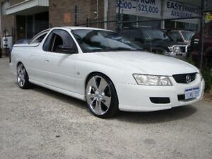2006 Holden Commodore VZ MY06 Upgrade White 6 Speed Manual Utility Wangara Wanneroo Area Preview