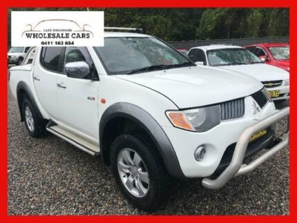 2008 Mitsubishi Triton ML GLX-R White Manual Utility