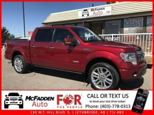 2013 Ford F-150 Limited Bluetooth, Back Up Cam