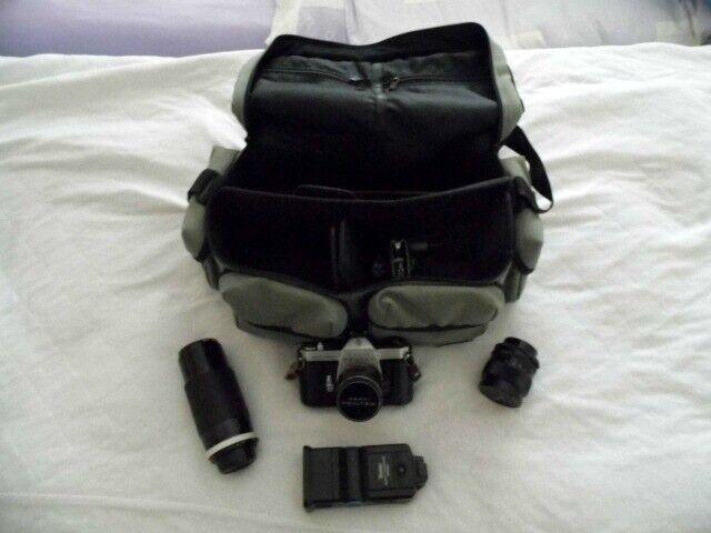 Asahi Pentax Spotmatic plus accessories | in Beaconsfield, Buckinghamshire  | Gumtree