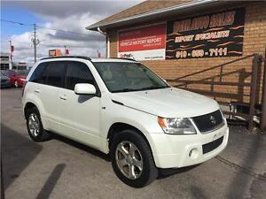 2007 Suzuki Grand Vitara Luxury***4X4**SUNROOF**LEATHER**161 KMS