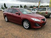 2009 Mazda 6 GH1051 MY09 Classic Burgundy 5 Speed Sports Automatic Wagon Minchinbury Blacktown Area Preview