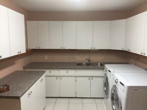 Great Laundry room cabinets - or garage