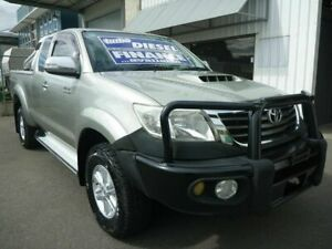 2011 Toyota Hilux KUN26R MY10 SR5 Xtra Cab Silver 5 Speed Manual Utility Edwardstown Marion Area Preview