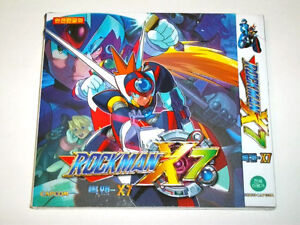 CAPCOM MEGAMAN ROCKMAN X7 NEW (PC GAME)