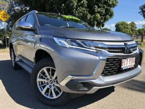 2018 Mitsubishi Pajero Sport QE MY18 GLX Grey 8 Speed Sports Automatic Wagon Townsville Townsville City Preview