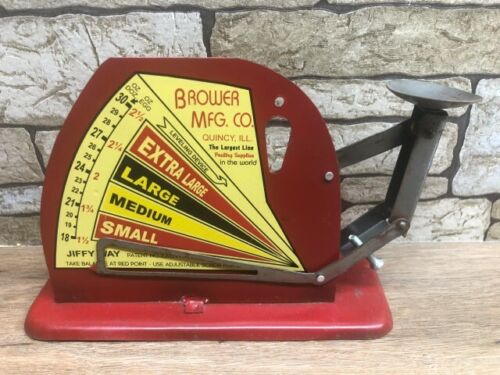 Vintage Style Brower Egg Weighing Scale Rustic Farmhouse Decor