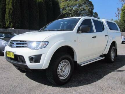 2011 Mitsubishi Triton 4X4 Turbo Diesel Dual Cab Ute With Canopy Bowral Bowral Area Preview