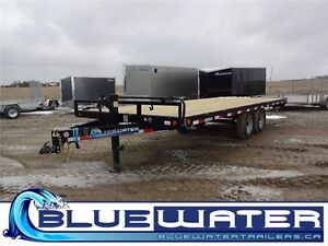 2016 Load Trail 7 Ton Deckover 102 x 20!! SLIDE OUT RAMPS!!