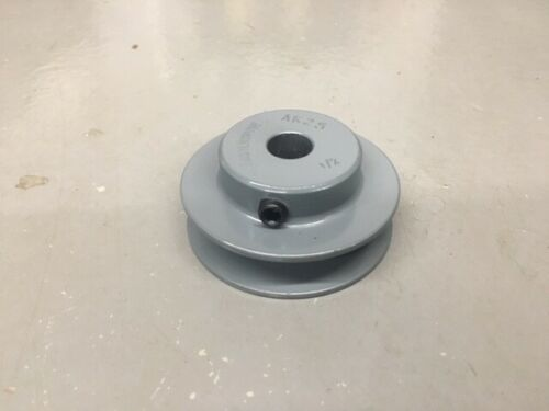 "2.5"" Cast Iron Shaft Pulley Sheave Single 1 Groove V Style A Belt (Pick Bore)"