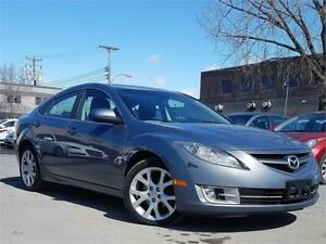 MAZDA 6 GT 2010/AUTO/AC/TOIT/CUIR/BLUETOOTH/MAGS/AUX/GROUP ELECT