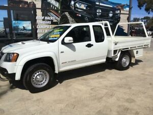 2010 Holden Colorado RC MY11 LX (4x4) White 5 Speed Manual Spacecab Tuncurry Great Lakes Area Preview