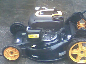 McCulloch M56-190AWFPX 190cc 22 inch Petrol Lawnmower and McCulloch T26CS 25cc Petrol Strimmer