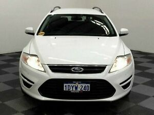 2012 Ford Mondeo MC LX PwrShift TDCi White 6 Speed Sports Automatic Dual Clutch Wagon Edgewater Joondalup Area Preview