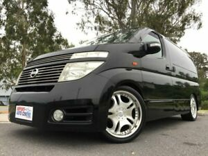 2003 Nissan Elgrand E51 Highway Star Black 4 Speed Automatic Wagon Kingston Logan Area Preview