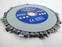 Chain Saw Blade, Disc 125mm x 22 x 14T Chainsaw Circular Cutting Wood Brite Direct Ltd.