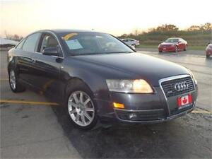 2005 Audi A6 3.2 Quattro AWD, 4dr Sdn, Accident free, Certified
