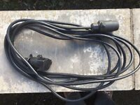 6 metre extension cable for trailer lighting bar