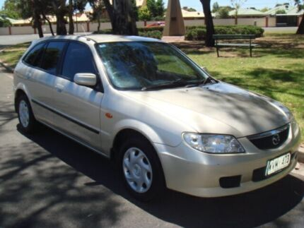 2003 Mazda 323 BJ II-J48 Astina Champagne 4 Speed Automatic Hatchback Broadview Port Adelaide Area Preview