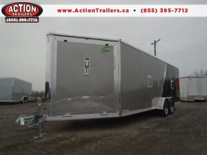 26' NEO ALL ALUMINUM - DRIVE IN/OUT SPORT TRAILER - SAVE $$$!