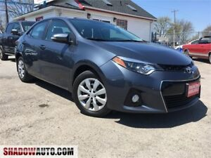 2014 Toyota Corolla S , LEATHER, BACK-UP CAM, HONDA, MAZDA