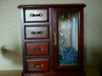 Jewellery Box With 4 Drawers
