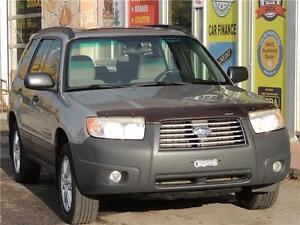 2007 Subaru Forester Columbia Edition /5SPEED/AWD/PANAROMIC ROOF
