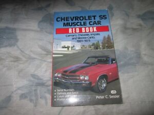 Chevrolet SS Muscle Car Red Book Like NEW Condition