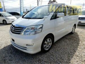 2007 Toyota Alphard ANH10W AX Pearl White Automatic Van Wagon Moorabbin Kingston Area Preview