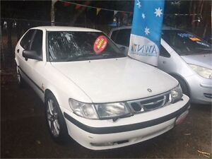 2000 Saab 9-3 TS White Manual Coupe West Ryde Ryde Area Preview