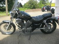 YAMAHA XV 535 VIRAGO CUSTOM CRUISER MOTORCYCLE-MOTed UNTIL MAY 2017-2 OWNERS-LOW MILES-SUPERB