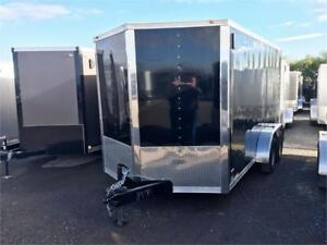 """7X14 Tandem Axle Cargo Trailers 6'6"""" Interior & Much More! $6395"""
