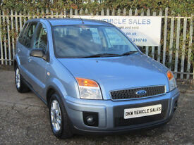 FORD FUSION 1.4 ZETEC CLIMATE 2007 (07) ONLY 59K FSH 9 X STAMPS / ONE OWNER!!!!!