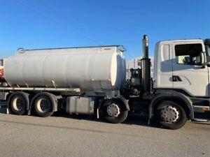 Truck Fuel Tanker Scania 19000L 8x4 470HP SN1175 1DJK112 Malaga Swan Area Preview