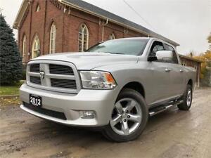 2012 Ram 1500 Sport - LEATHER - FULLY LOADED - NO ACCIDENTS