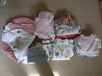 0-6 months girls clothing bundle