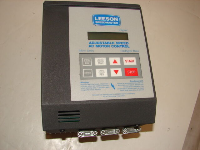 LEESON 174917.00 AC MOTOR CONTROL 2HP 3PH ****XLNT****