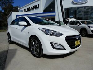 2015 Hyundai i30 GDe3 Series II MY16 Tourer DCT White 7 Speed Sports Automatic Dual Clutch Wagon Glendale Lake Macquarie Area Preview