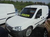 Vauxhall Combo 1700 Cdti SWB H/C (white) 2006
